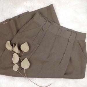 Vintage 100% wool maxi skirt